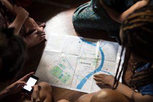 kaart bangkok